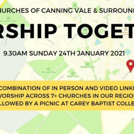 Join us for a combined livestream Sunday service Jan. 24 2021.
