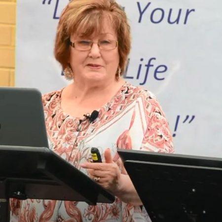 Loris DeMarco speaking at Eternal Life Ministries