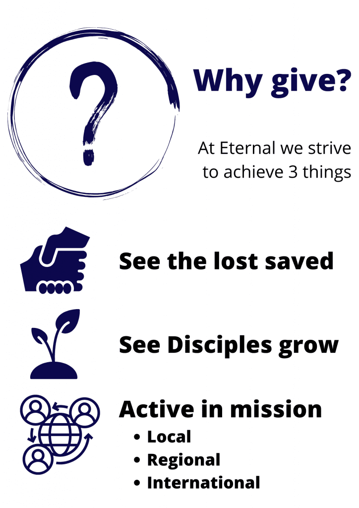 Why Give To Eternal Life Ministries